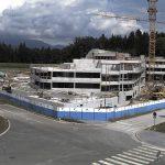 Gradnja novega centra kontrole zračnega prometa